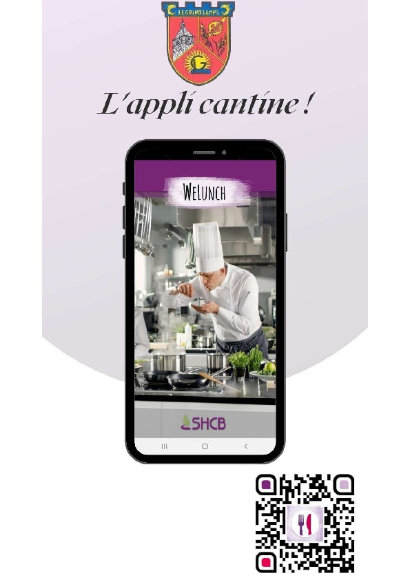 WeLunch : L'appli cantine !